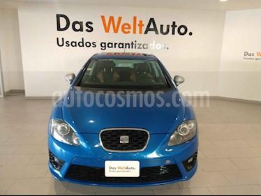 SEAT Leon FR 1.4T 150 HP DSG usado (2013) color Azul precio $152,000
