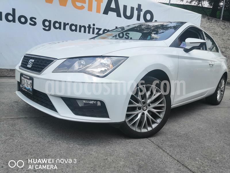 SEAT Leon 1.4T Style  usado (2018) color Blanco precio $255,000