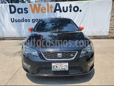 SEAT Leon FR 1.4T usado (2016) color Negro precio $245,000