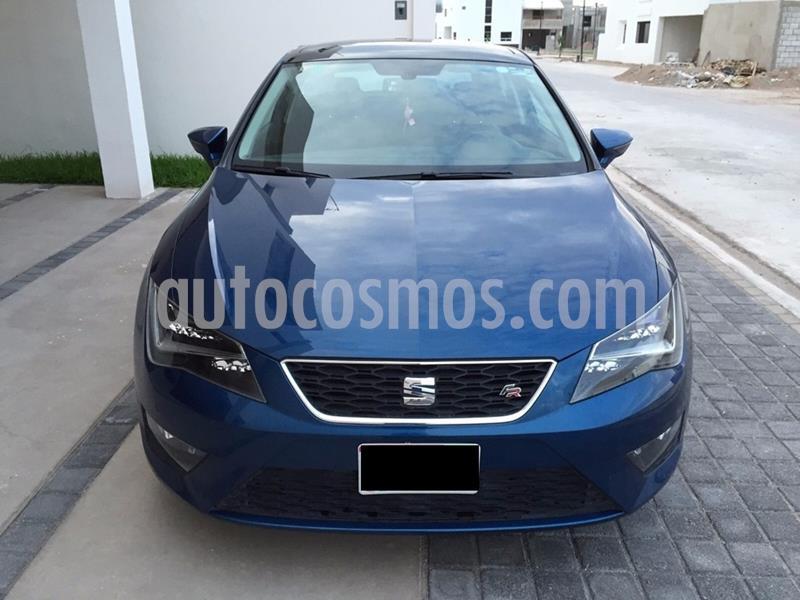 SEAT Leon FR 1.8T  180 HP DSG usado (2014) color Azul precio $140,000