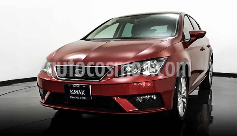 SEAT Leon Style 1.4T 150HP usado (2018) color Rojo precio $284,999