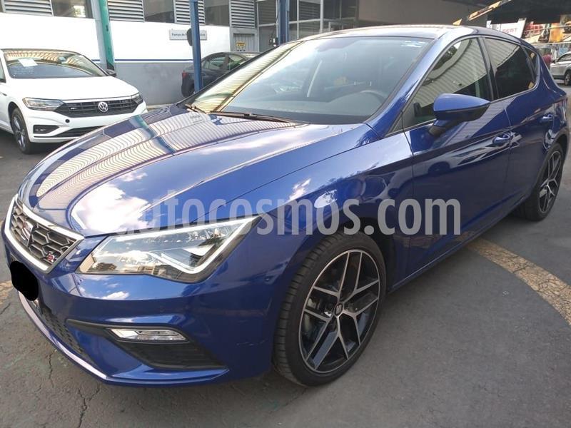 SEAT Leon FR 1.4T 150 HP DSG usado (2020) color Azul precio $379,000
