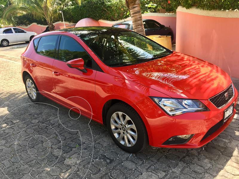 SEAT Leon Style 1.4T 140HP usado (2014) color Rojo precio $169,000
