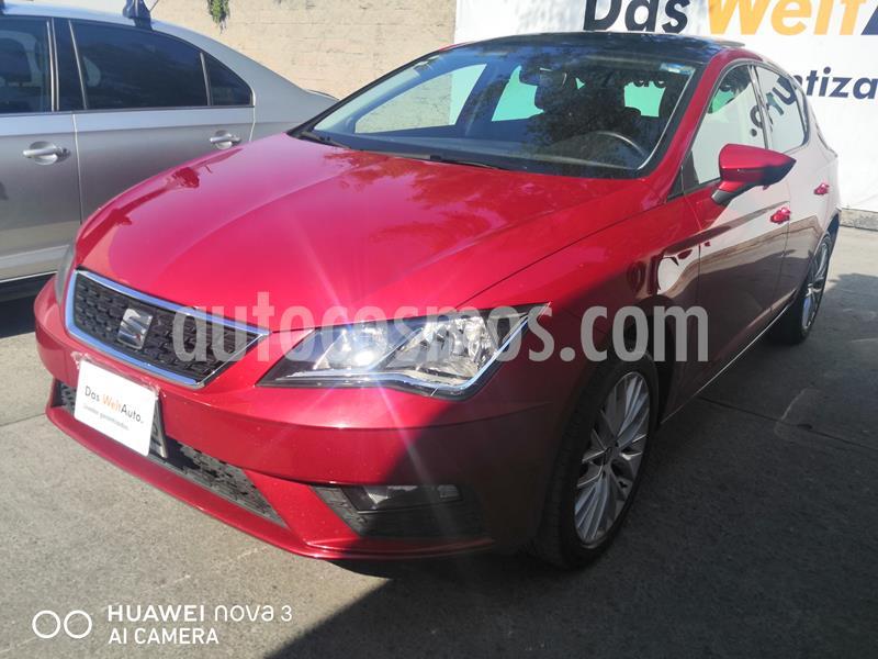 SEAT Leon 1.4T Style  usado (2019) color Rojo precio $280,000