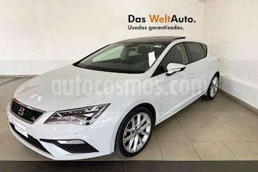 SEAT Leon 5p FR L4/1.4/T Aut usado (2018) color Blanco precio $304,995