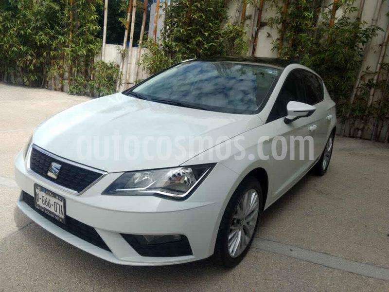 SEAT Leon Style 1.4T 150HP DSG usado (2019) color Blanco precio $287,000
