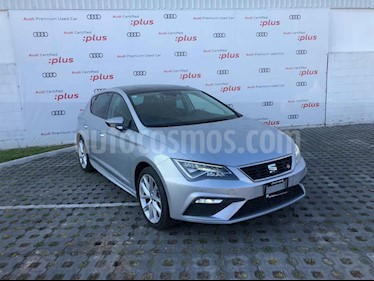 SEAT Leon 5p FR L4/1.4/T Man usado (2018) color Plata precio $339,001