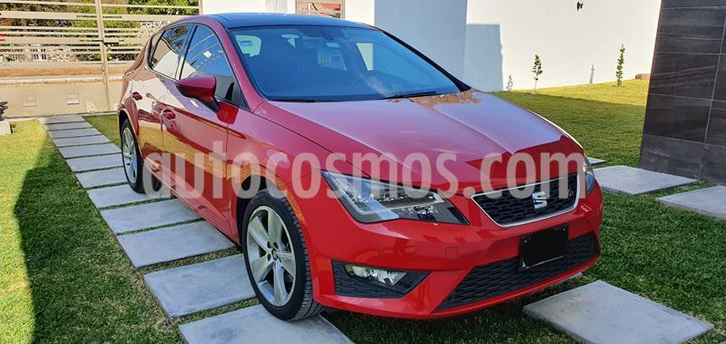 SEAT Leon FR 1.4T 150 HP DSG usado (2016) color Rojo precio $230,000