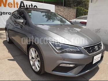 SEAT Leon FR 1.4T 140 HP DSG usado (2018) color Gris precio $350,000