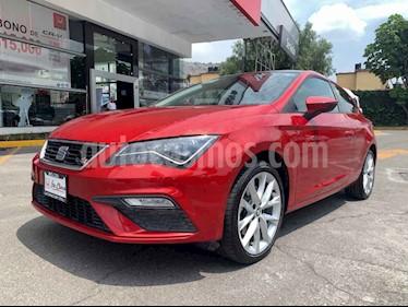 SEAT Leon FR 1.8T  180 HP DSG usado (2018) color Rojo precio $328,000