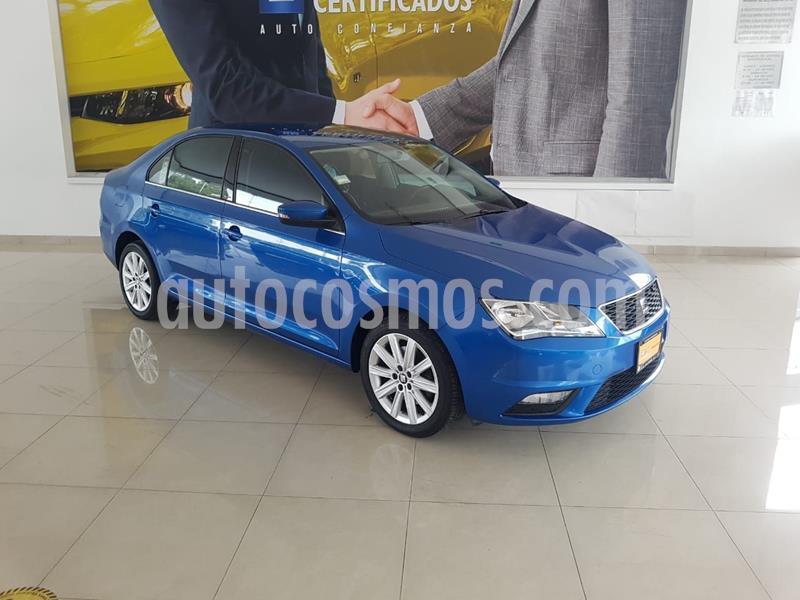 SEAT Toledo Style DSG 1.4L usado (2018) color Azul precio $215,900
