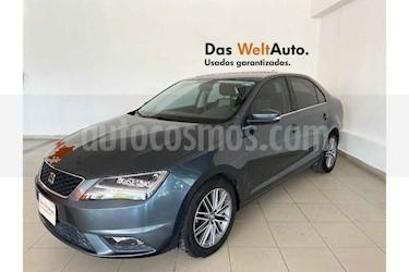 SEAT Toledo 4p Style Advance L4/1.4/T Aut usado (2017) color Gris precio $229,995