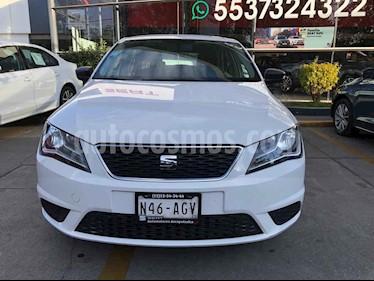 SEAT Toledo 4p Entry L4/1.6 Man usado (2016) color Blanco precio $155,000