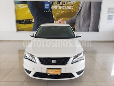 SEAT Toledo 4P STYLE 1.2T 110 HP AT RA-15 usado (2017) color Blanco precio $205,900