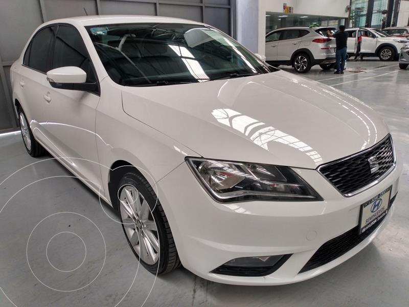 SEAT Toledo Style DSG 1.4L usado (2018) color Blanco precio $219,900