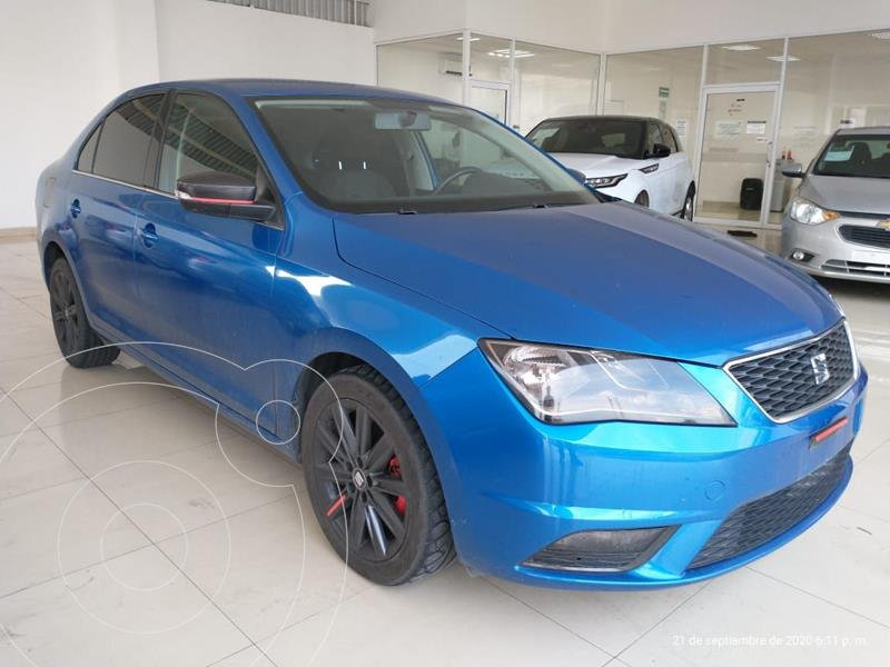 SEAT Toledo Style DSG 1.4L usado (2018) color Azul precio $230,000
