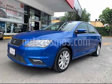 SEAT Toledo Style DSG 1.4L usado (2018) color Azul precio $208,000