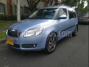 Foto venta Carro usado Skoda Roomster 1.6L (2008) color Azul Metalizado precio $18.900.000
