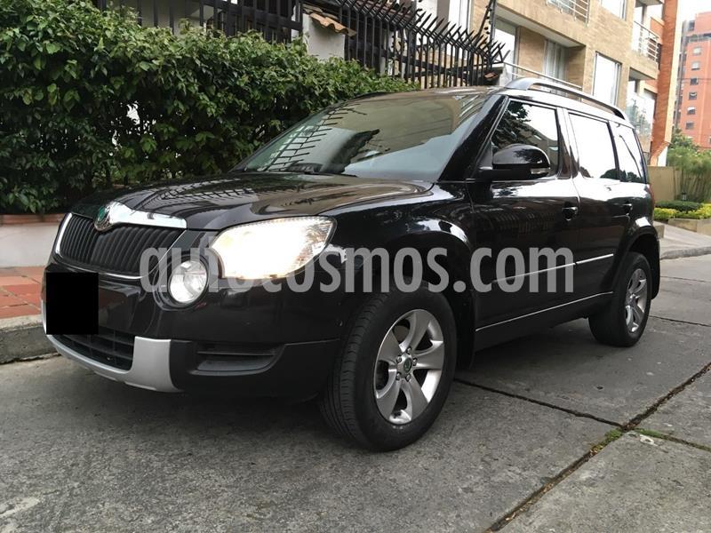 Skoda Yeti 1.8 TSI Elegance usado (2011) color Negro precio $25.000.000