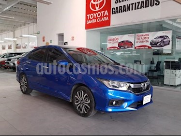 smart City 4P EX L4 CVT A/AC. AUT. AUDIO EN VOLANTE F. NIEBL usado (2018) color Azul precio $230,000