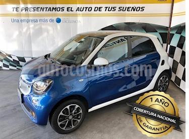 Foto venta Auto usado smart Forfour Passion Turbo Aut. (2017) color Azul precio $250,000