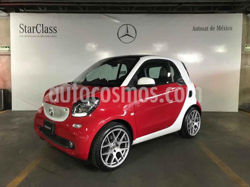 smart Fortwo Passion Turbo Aut. usado (2017) color Verde precio $249,000