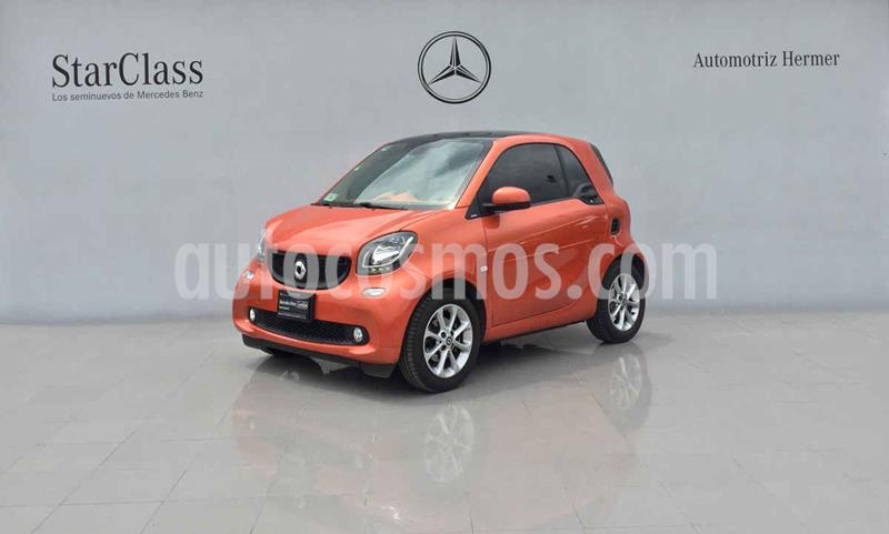 smart Fortwo Passion Turbo Aut. usado (2018) color Naranja precio $249,900