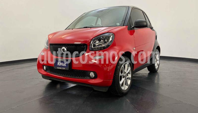 smart Fortwo Coupe usado (2016) color Rojo precio $204,999