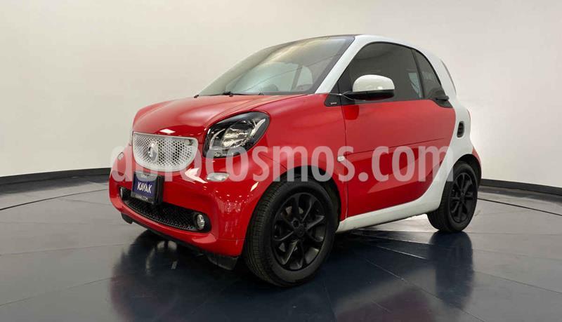 smart Fortwo Passion usado (2017) color Rojo precio $272,999