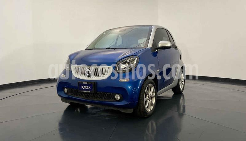 smart Fortwo Passion Turbo Aut. usado (2018) color Azul precio $252,999