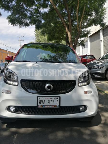 smart Fortwo Passion Turbo Aut. usado (2018) color Blanco precio $235,000