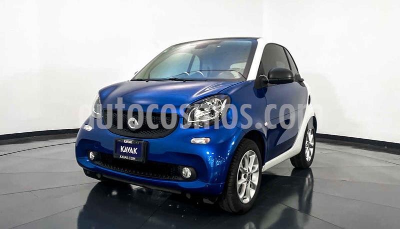 smart Fortwo Coupe usado (2016) color Azul precio $212,999