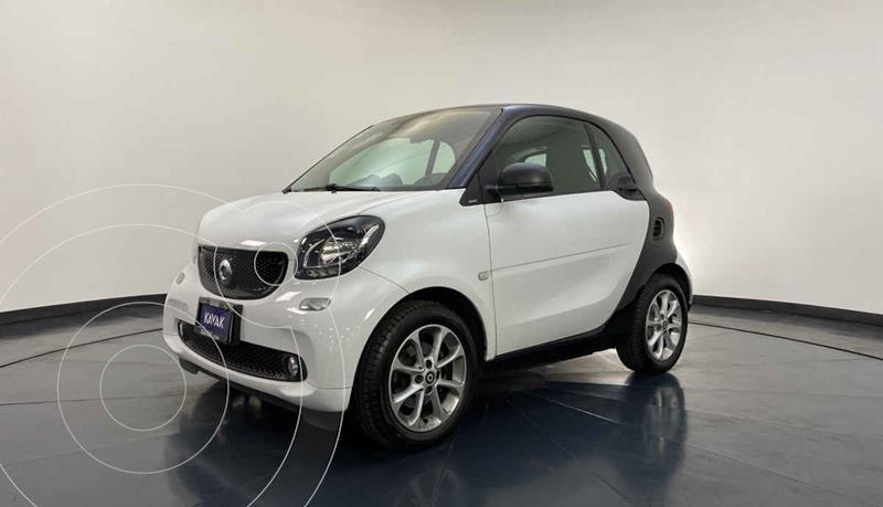 smart Fortwo Passion Turbo Aut. usado (2018) color Blanco precio $272,999