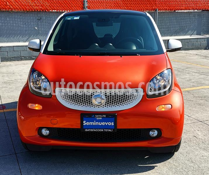 smart Fortwo Prime Turbo Aut. usado (2017) color Naranja precio $249,000