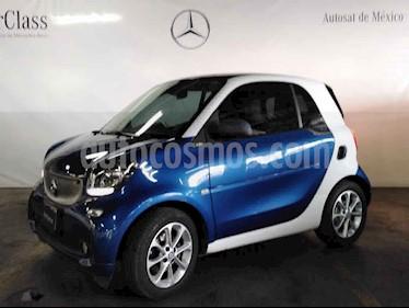 smart Fortwo 3p passion turbo usado (2018) color Azul precio $269,000