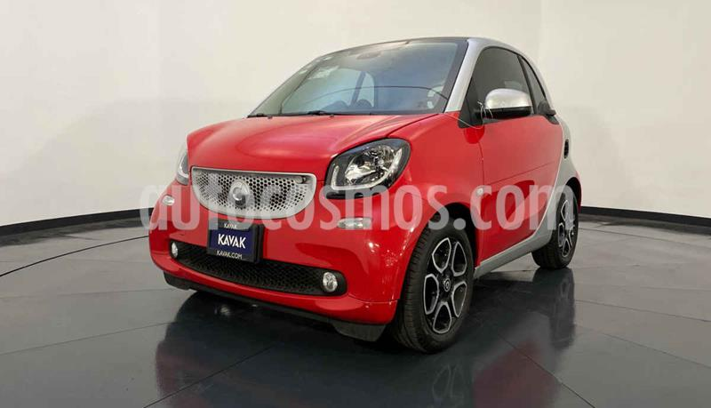 smart Fortwo Prime Turbo Aut. usado (2017) color Rojo precio $262,999