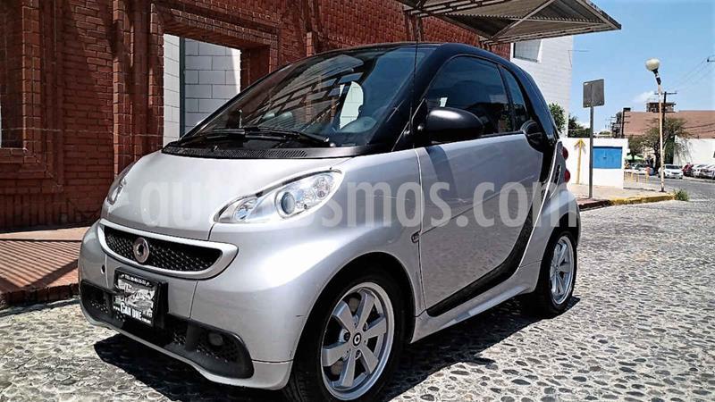 smart Fortwo Coupe mhd usado (2015) color Plata precio $160,000