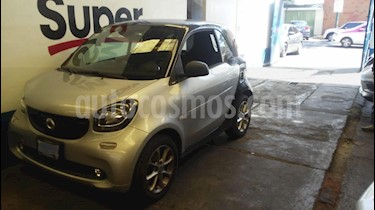 smart Fortwo Coupe Passion usado (2018) color Plata precio $217,000