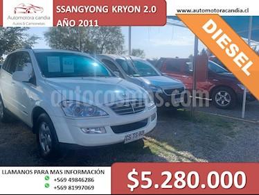 SsangYong Actyon Sports 2.0L 4x2 Full Diesel usado (2019) color Blanco precio $8.980.000