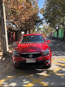 SsangYong Actyon Sports 2.0L 4x2 Ac usado (2018) color Rojo precio $8.900.000
