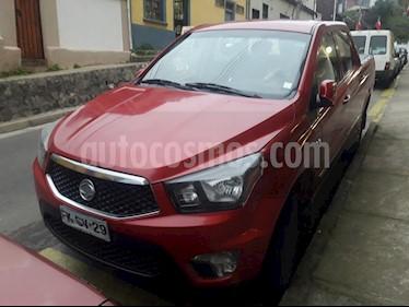 SsangYong Actyon 2.0 Diesel 4X4  usado (2013) color Rojo precio $6.290.000