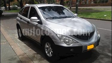 Foto venta Carro usado SsangYong Actyon 2.0L 4x2  (2012) color Plata precio $27.800.000