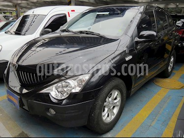 Foto venta Carro usado SsangYong Actyon 2.3L 4x2  Full (2009) color Negro precio $29.900.000