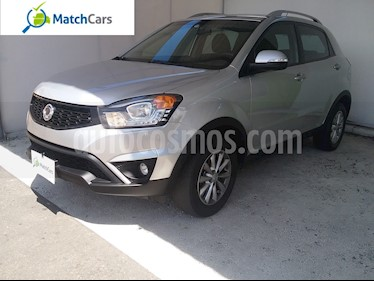 Foto venta Carro usado Ssangyong Korando C 4x2 Aut  (2014) color Plata precio $45.990.000