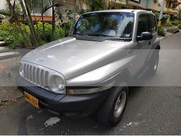 Foto venta Carro usado SsangYong Korando C 4x4 (1999) color Gris precio $16.500.000
