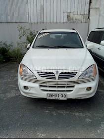 SsangYong Kyron 2.0 Diesel 4X4 Aut Full  usado (2007) color Blanco precio $6.500.000
