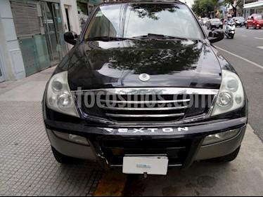 Foto venta Auto usado SsangYong Rexton - (2006) color Negro precio $265.000