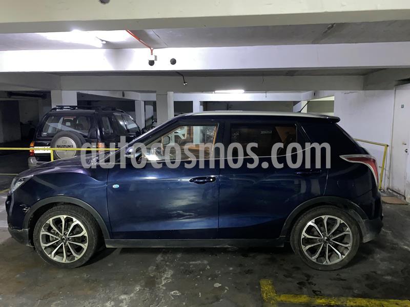 SsangYong Tivoli 1.6L 4x2 Diesel usado (2018) color Azul Metalico precio $10.200.000