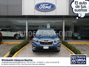 Subaru Forester Limited Eye Sight usado (2019) color Azul Electrico precio $490,000