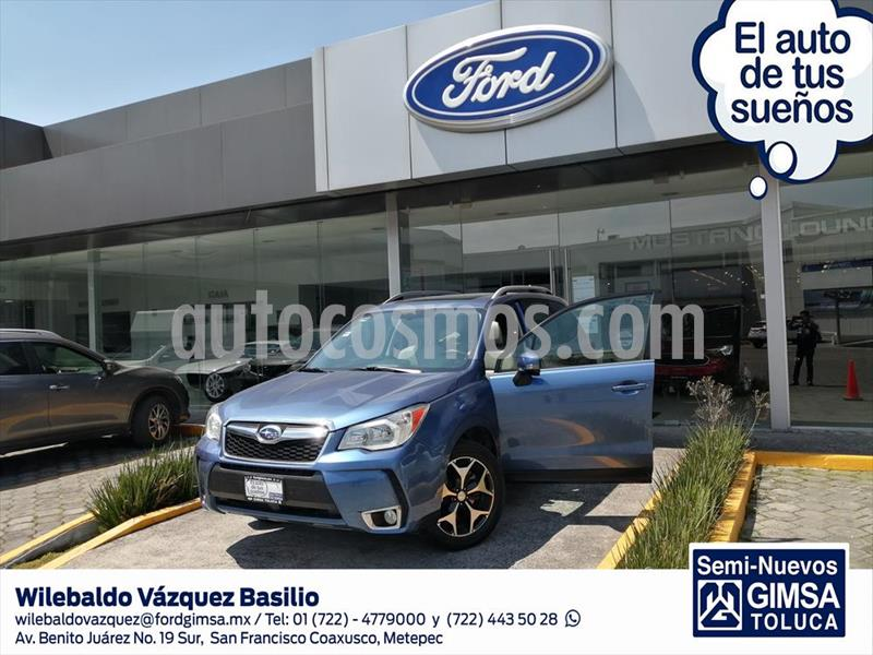 Subaru Forester XT usado (2016) color Azul Electrico precio $360,000
